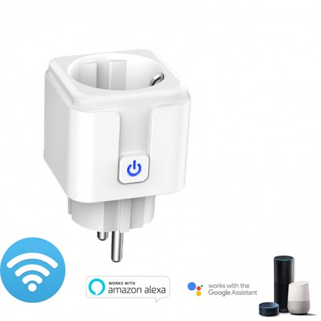 Connected smart plug WIFI with Amazon Alexa/Google assistant