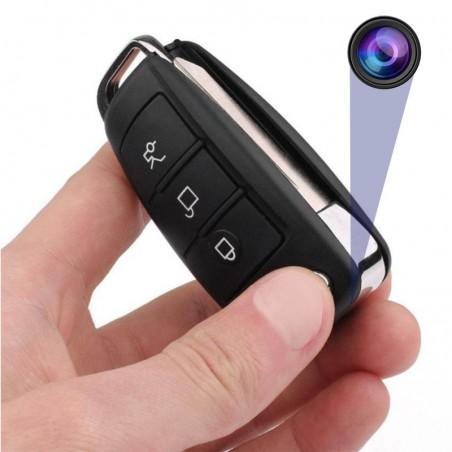 Caméra espion clé de voiture Full HD