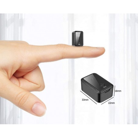 Micro spy GSM recorder and GPS tracker