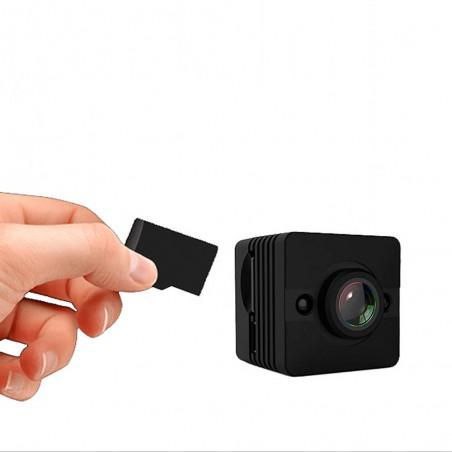 Mini caméra en Full HD avec vision nocturne