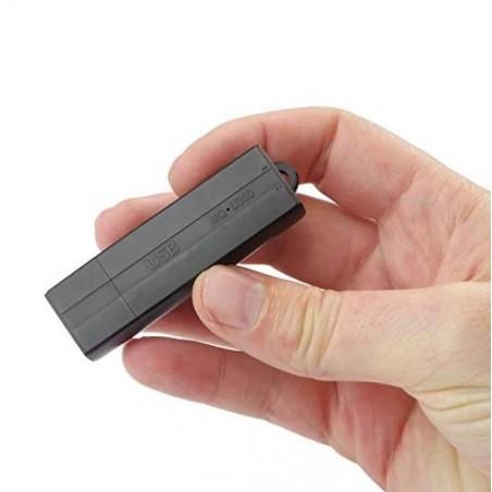Micro enregistreur espion détection de bruit jusqu'à 25 jours et 288h d'enregistrement