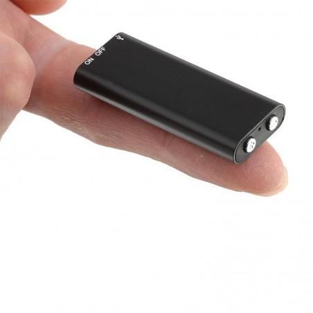 Mini micro espion enregistreur lecteur mp3 10h d'enregistrement