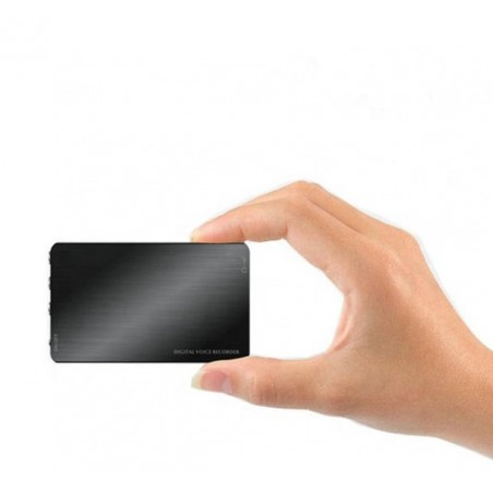 Micro enregistreur longue autonomie 80h et 160h en détection