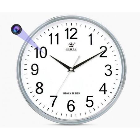 Horloge murale caméra espion Full HD vision nocturne