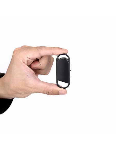 Audio recorder key-chain up to 18 hours or recording