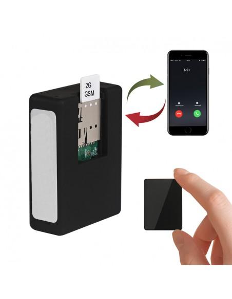 Micro GSM espion écoute à distance avec GPS