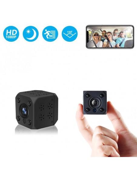Mini caméra WIFI Full HD avec vision nocturne