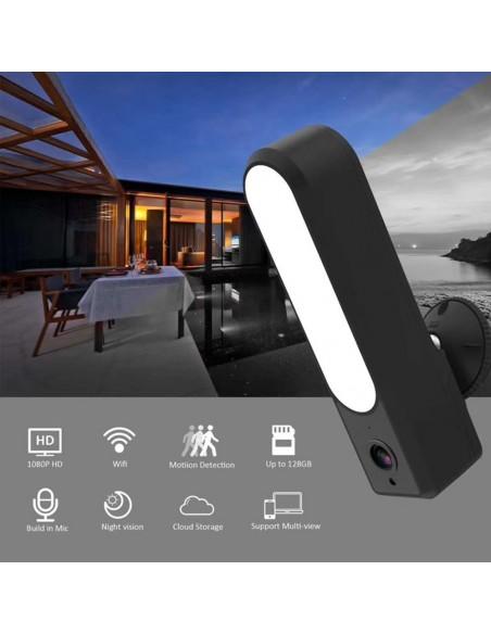 Connected outdoor surveillance camera