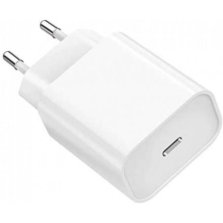 Chargeur Secteur Rapide 18W Compatible avec iPhone