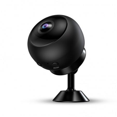 Caméra espion grand angle Full HD vision nocturne détection de mouvement