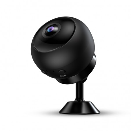 Full HD wide angle spy camera with night vision and motion detection