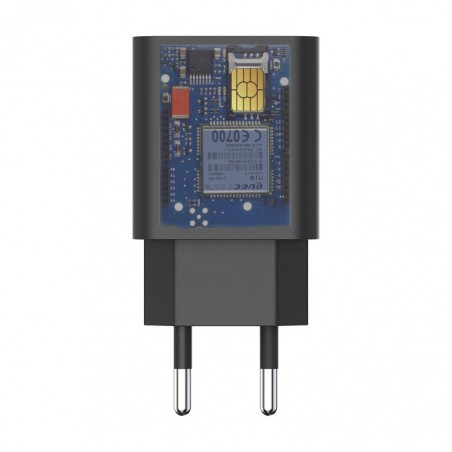 GSM spy micro  charger with battery for up to 3 days on standby