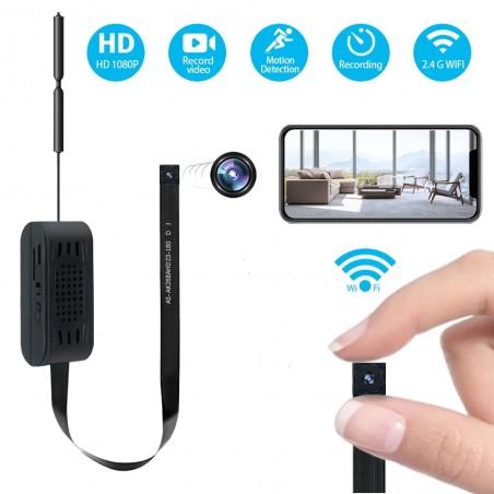 Caméra WIFI avec batterie intégrée accessible à distance