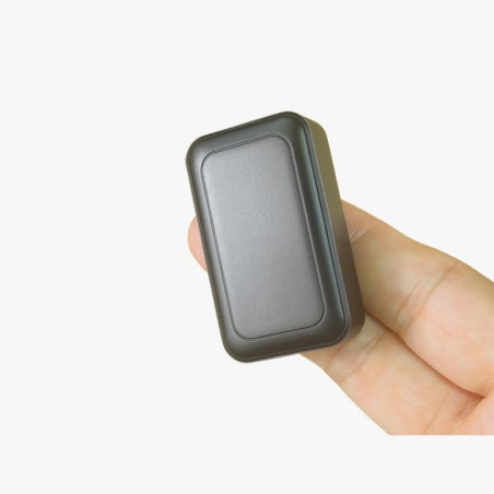 Mini spy GPS tracker with microphone remote listening and recording