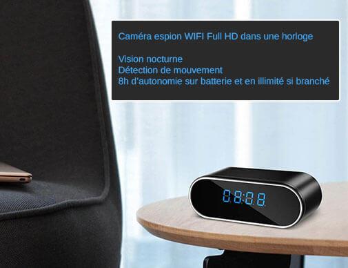 caméra espion wifi